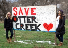 Alexis and Vanessa - Save Otter Creek