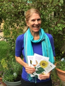 Sue Reel with pollinator guides